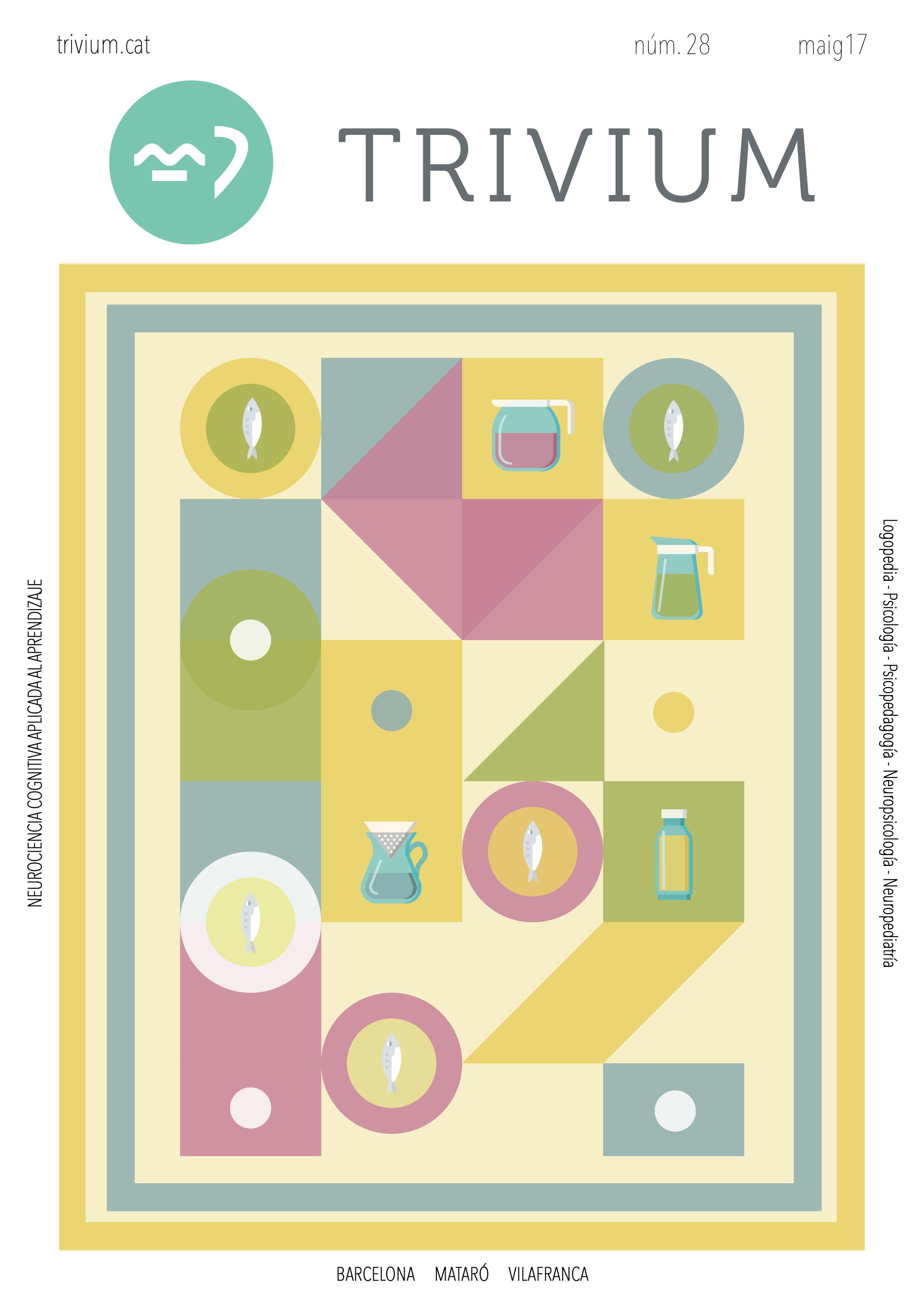 portada maig 2017 cat - trivium- aprenentatge - logopèdia- psicologia- dislèxia - barcelona