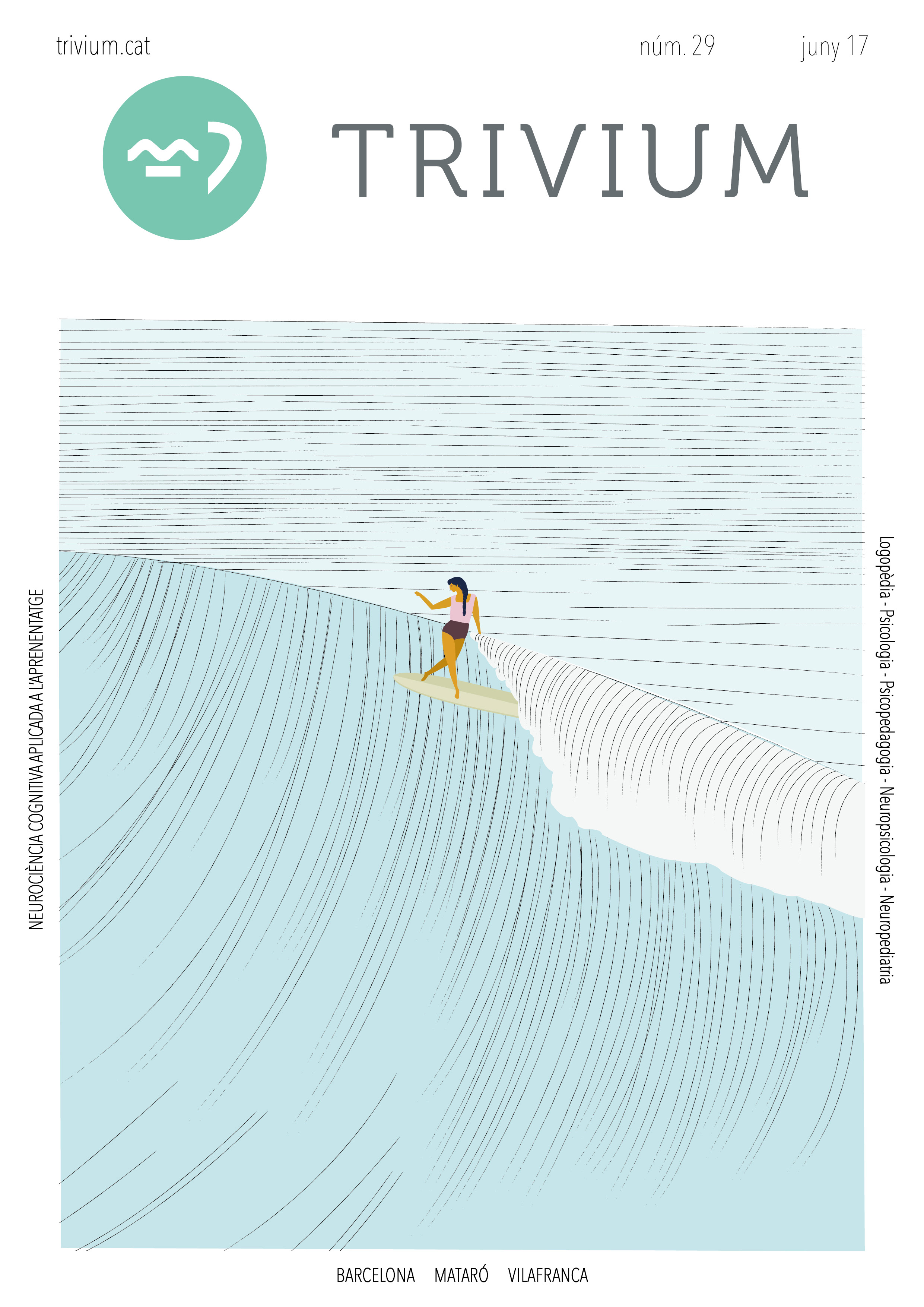 portada trivium - juny - aprenentatge - barcelona - logopèdia - psicologia