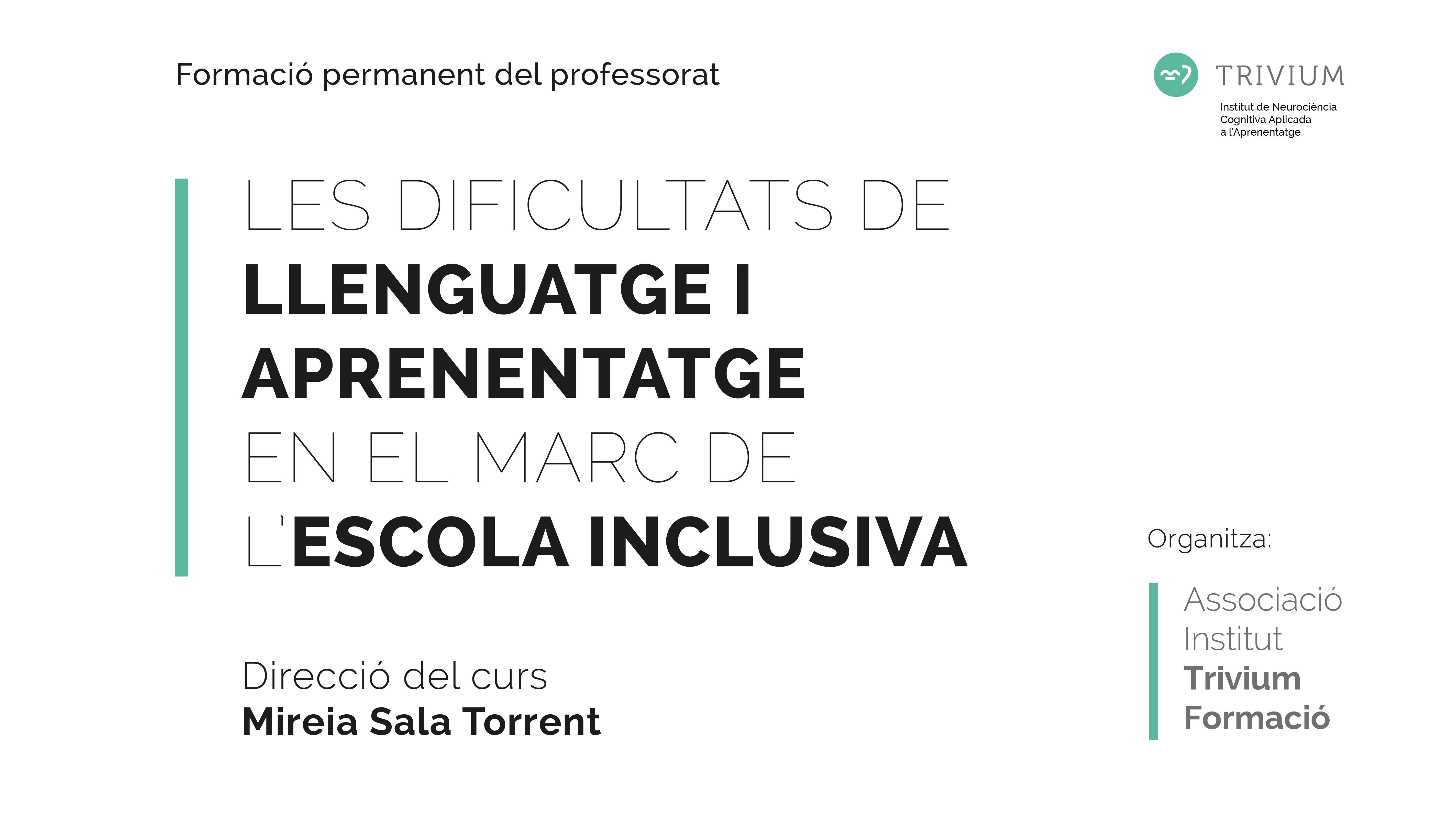 Formación - Trivium Dislexia - Workshops - Talleres - Conferencias