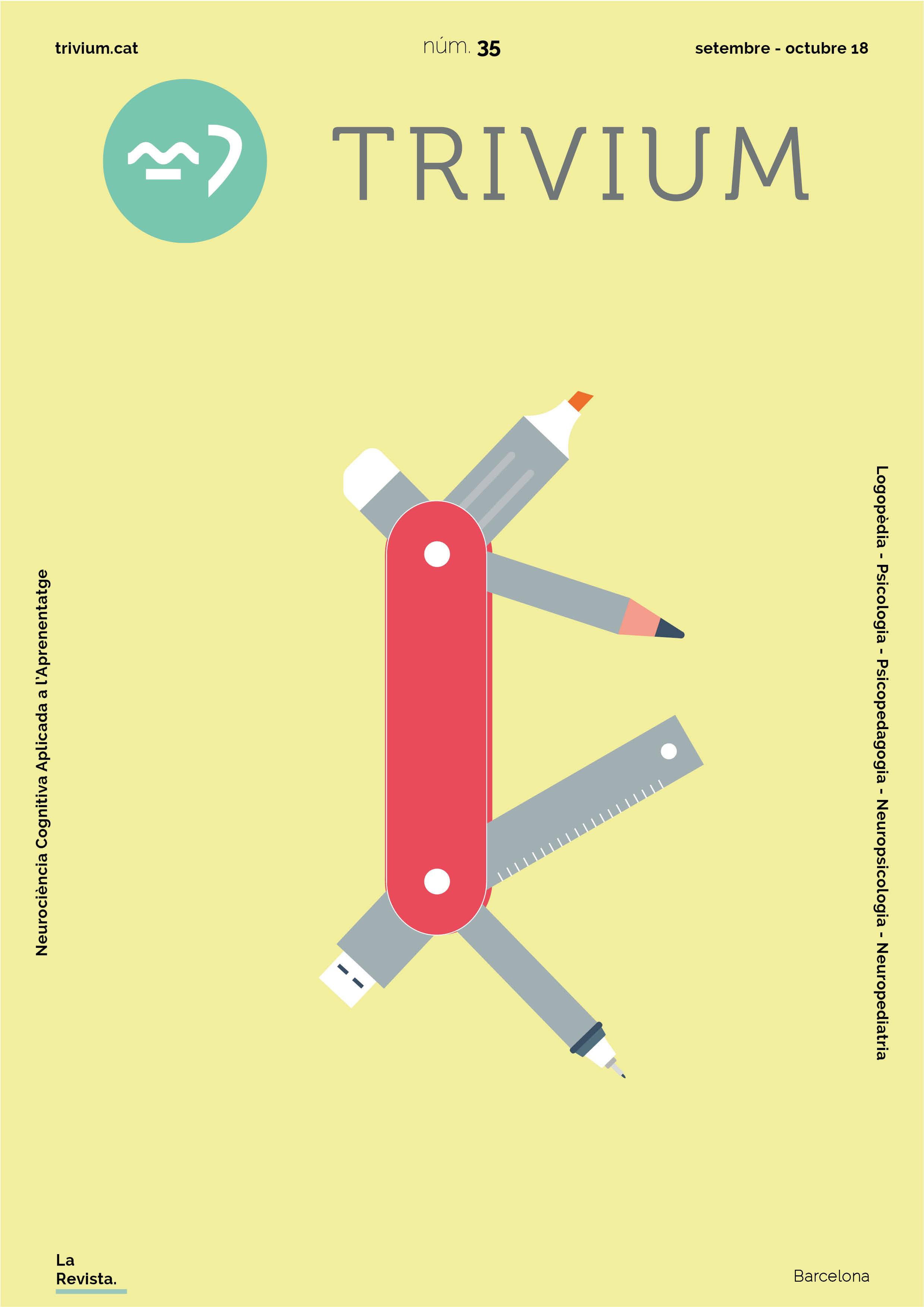 Portada Revista Institut Trivium setembre català 2018