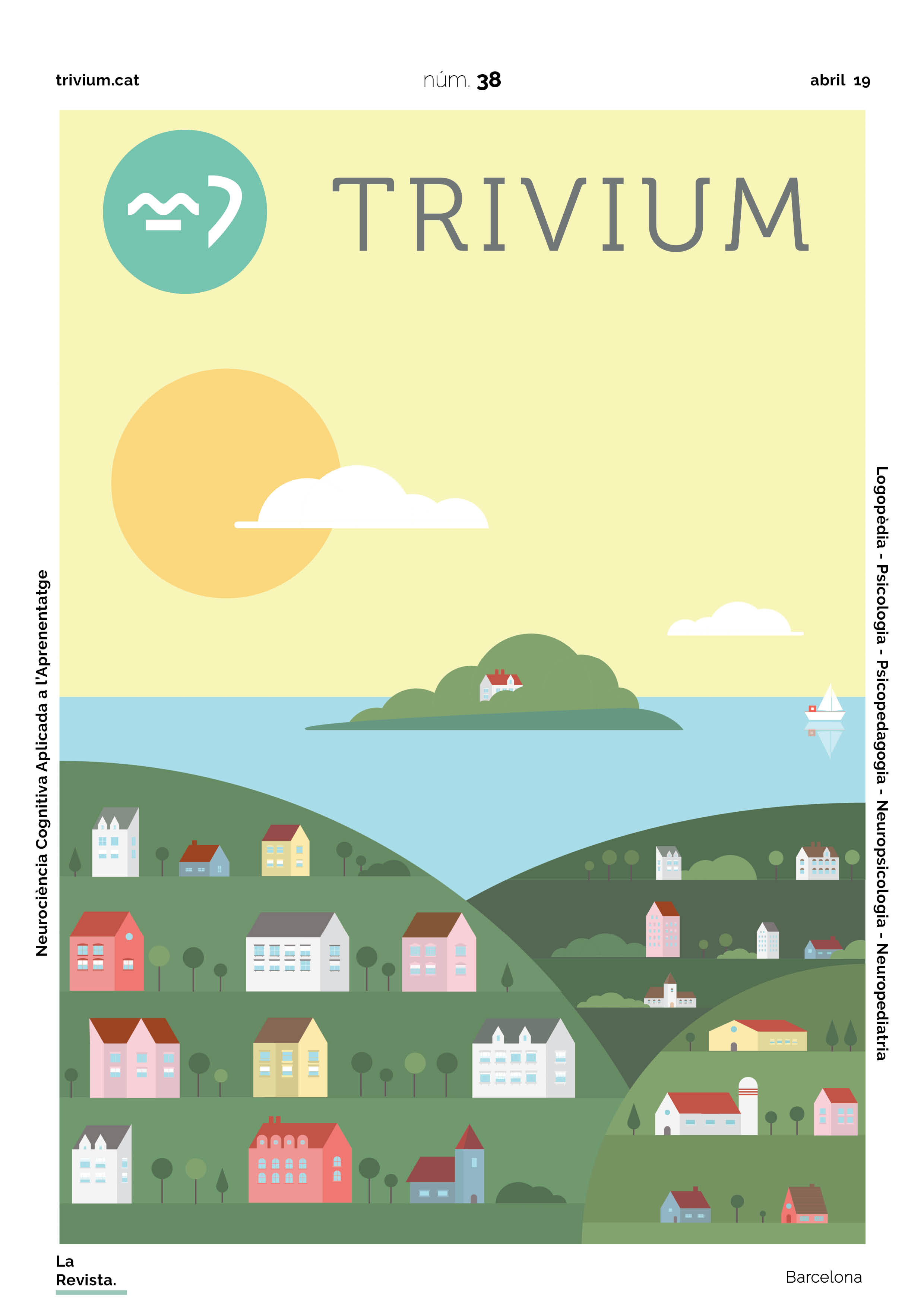 La Revista - març - abril 2019 - Portada - Trivium - Barcelona